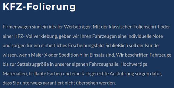 Weiterverarbeitungstechniken in  Heiningen