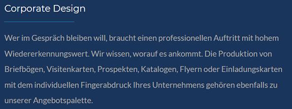 Werbemittel Gestaltung aus  Altbach