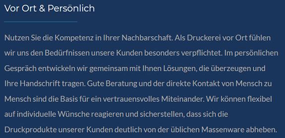 Werbung Gestalten aus  Altbach