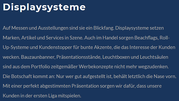 hoher Wiedererkennungswert in  Heiningen
